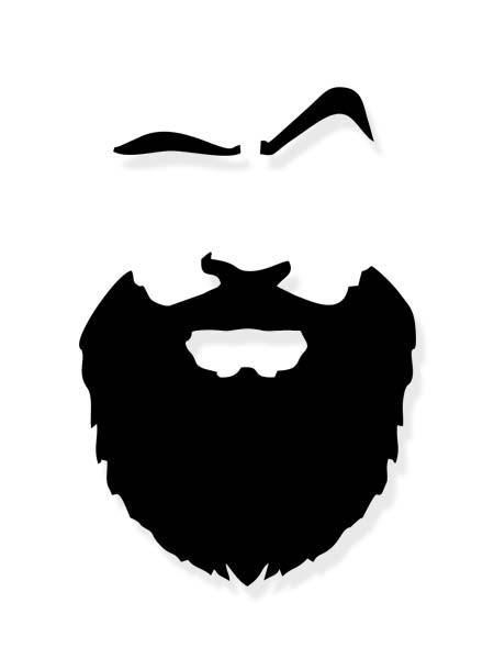 Aufkleber Bart Hipster Beard Sticker