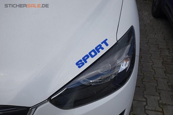 """Schriftzug """" SPORT """" in Wunschfarbe"""